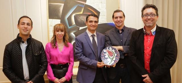 Visita del Vicerrectorado de Cultura de la UA