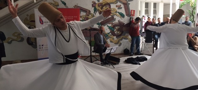 Danza sufi y concierto de Ney en la EA Murcia